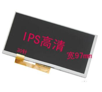 """164*97mm 30pin LCD display For 7"""" Digma Plane 7557 4G PS7171PL 7556 3G PS7170MG FY07024DI26A30-1-FPC 1_A LCD Screen Glass Matrix"""