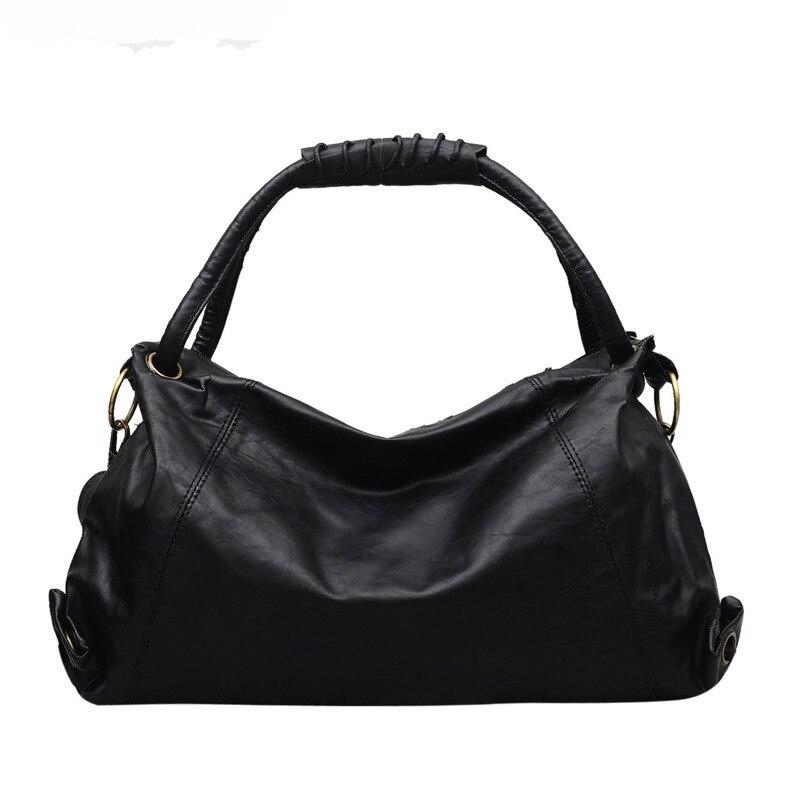 Women\'S Leather Handbags Designer All-Match Shoulder Crossbody Bags Ladies Messenger Bag Hobos Women Luxury Bags
