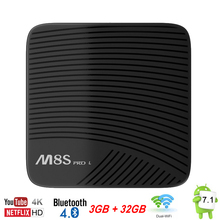TV Box Android 7 1 3GB 32GB 3G 16G Mecool M8S Pro L Smart Mini PC