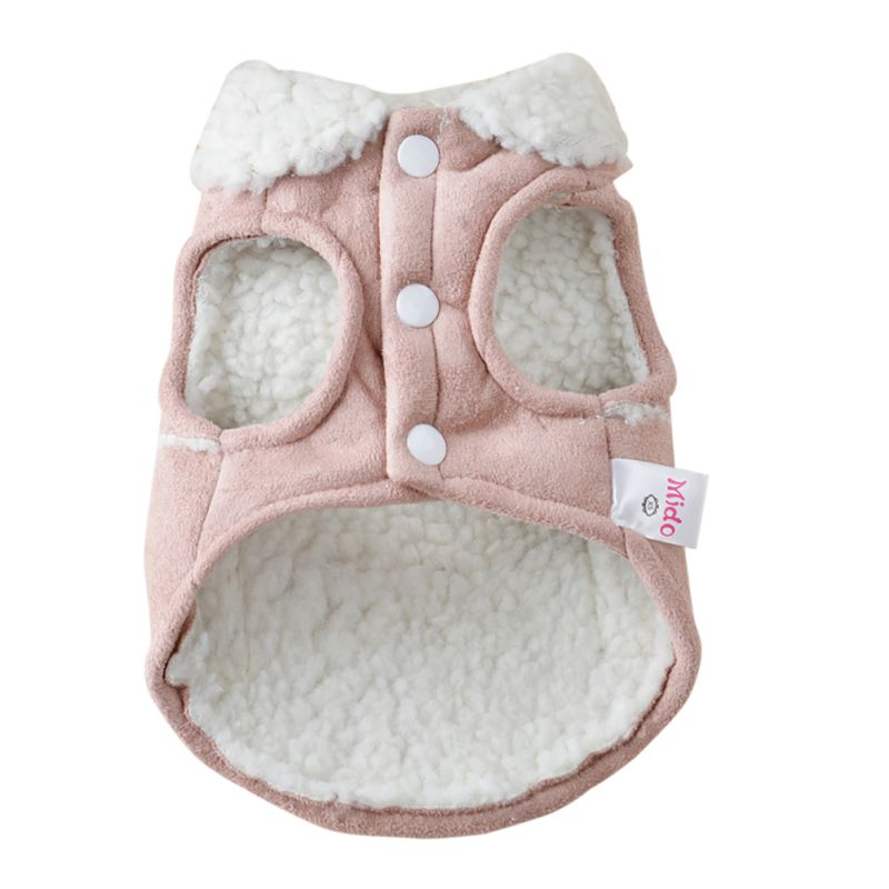Pet Dog Cat Winter Clothes Coat <font><b>Apparel</b></font> Puppy Warm Motorcycle Vest Costume for Small Dog Pet Clothes