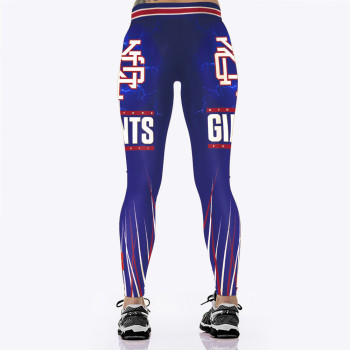 Unisex Football Team Giants 13 Print Tight Pants Workout Gym Training Running Yoga Sport Fitness Exercise Leggings Dropshipping 1
