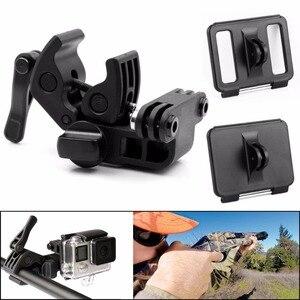 Image 1 - Аксессуары для Gopro, портативное крепление для спортивного пистолета, комплект зажимов для удочки с креплением для Gopro Hero 4 3 3 +