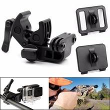 Portable For Gopro Accessories Sportsman Mount Fishing Gun Bow Rod Retaining Clip Kit for Gopro Hero 4 3 3+