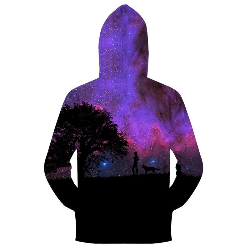 d4bdfc434768 Purple Zip Hoodies Men Zip Hoody Wolf Sweatshirt 3D Tracksuit Print  Pullover Streetwear Coat Autumn Top Walk DropShip ZOOTOPBEAR