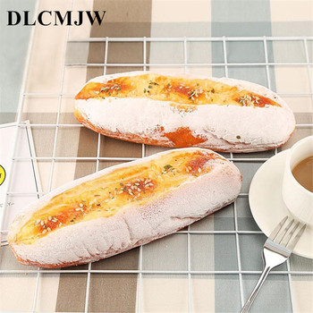 Artificial bread Soft Bread Fake Cake Bakery Photography props Decor Soft Bread Artificial food squishy Bread Simulation Model
