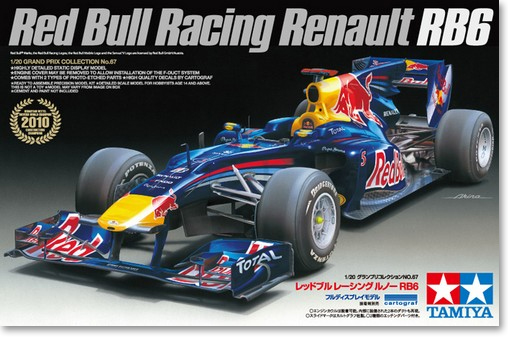 1/20 Vehicle Model RED BULL RACING RENAULT RB6 20067