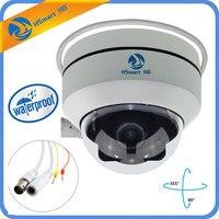 Мини купольная Камера AHD1080P Full HD 4 в 1 3X зум H.264 30 м ИК Ночное видение Водонепроницаемый 2.0MP открытый купол TVI CVI PTZ Камера s