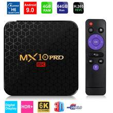 6K décodeur Android 9.0 Smart TV Box Quad Core 4GB RAM 32 GB/64 GB ROM USB3.0 WIFI H.265 HDR IPTV décodeur 4 lecteur multimédia(China)