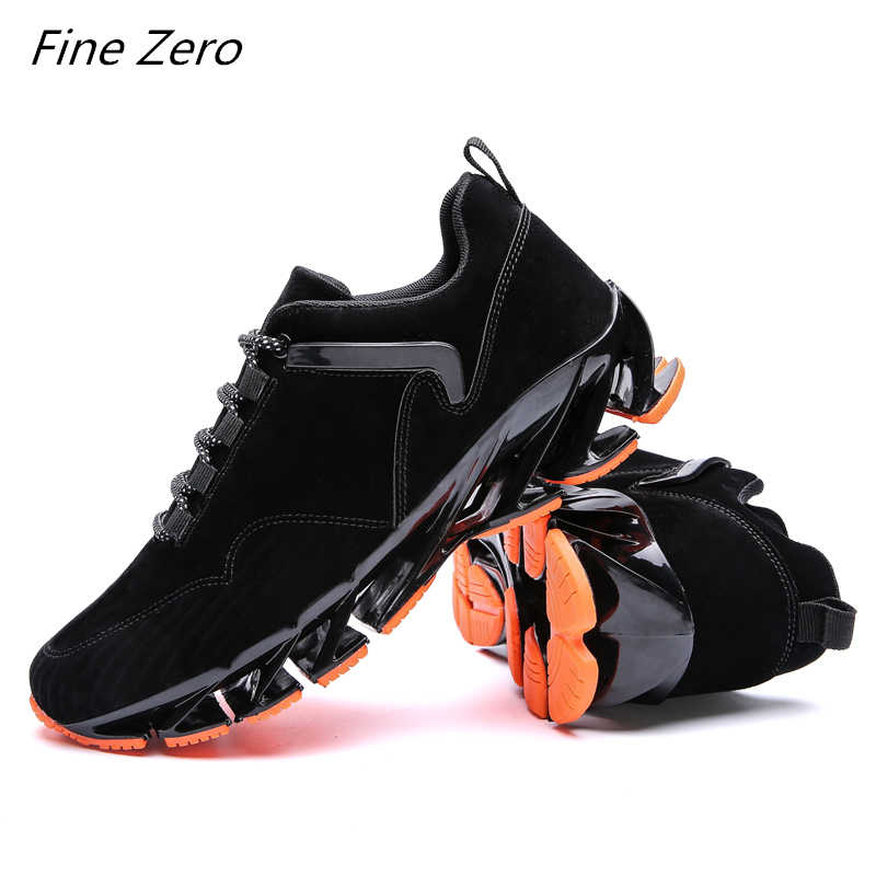 Fine Zero Super Cool Breathable Running Shoes Men Sneakers Bounce Summer Outdoor Sport Shoes Professional Training Shoes For Men
