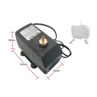Water pump NEW 75W Water cooled Circle Pump 220V for laser engraving Machine free tax to RU
