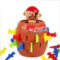 funny Pirate barrel Tricky toy kill the pirate let it fly for bar early education gift for kids