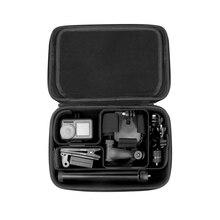 Câmera de esportes Padrão/versão DIY caso Caixa de Proteção Saco de Armazenamento De peças De Reposição para DJI OSMO AÇÃO Acessórios da câmera