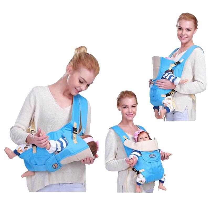 6 In 1 For 0 36m Infant Toddler Ergonomic Baby Carrier