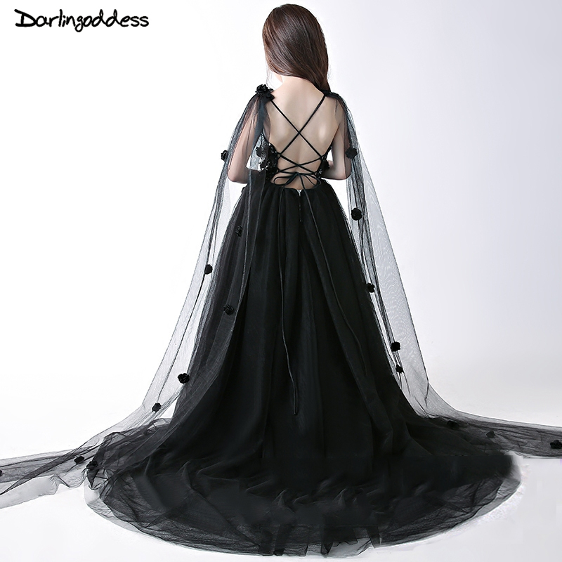 Luxury Black Flower Girl Dresses for Weddings Sexy Sequined Backless First Communion Dresses for Girls Pageant Dress Prom Gown