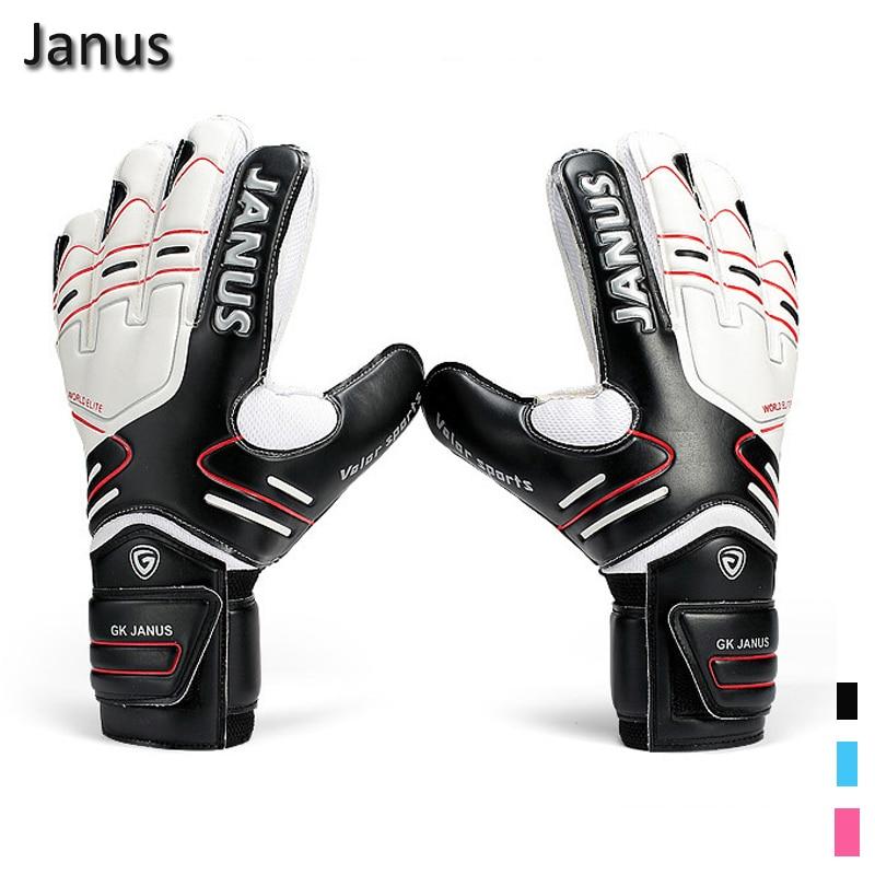 New Latex Professional Men's Soccer Goal Keeper Gloves Finger Protection Football Bola De Guantes Futbol Luvas De Guarda Redes Modern Techniques