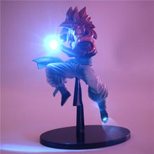 Gogeta Super Saiyan Dragon Ball Z Figuras de Ação Night Light Energia Anime Super Dragon Ball Goku Vegeta Modelo Fusion Brinquedo Conduziu a Lâmpada(China)