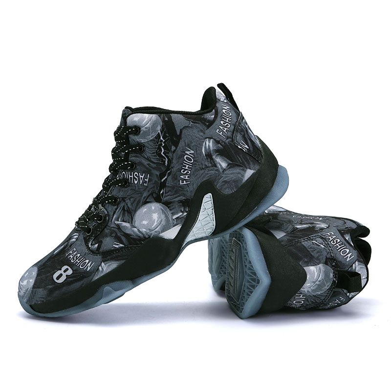 High Top Jordan Basketball Shoes Men Cushioning Breathable Basketball Boots Light Outdoor Mens Sneakers Athletic Boy Sport Shoes