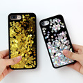 7 kisscase para iphone 6 6 s plus case glitter coração bonito coque feminino mulheres casos rígido de volta para o iphone 6 6 s plus 7 7 mais fundas