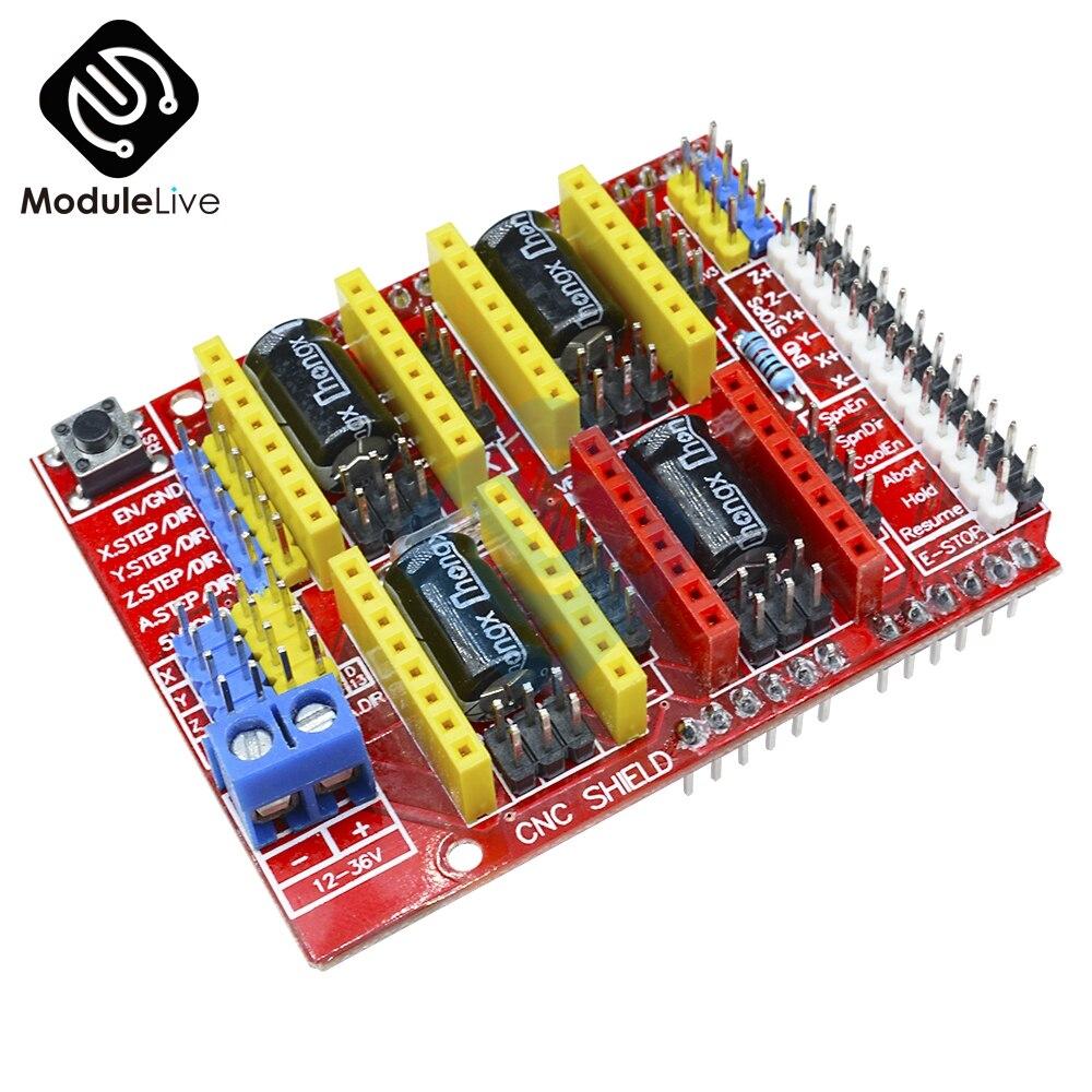 A4988 V3 3D Printer Drive Driver CNC Shield Expansion Drive Module Board For Arduino Engraver IO Port Diy Electronic PCB Board