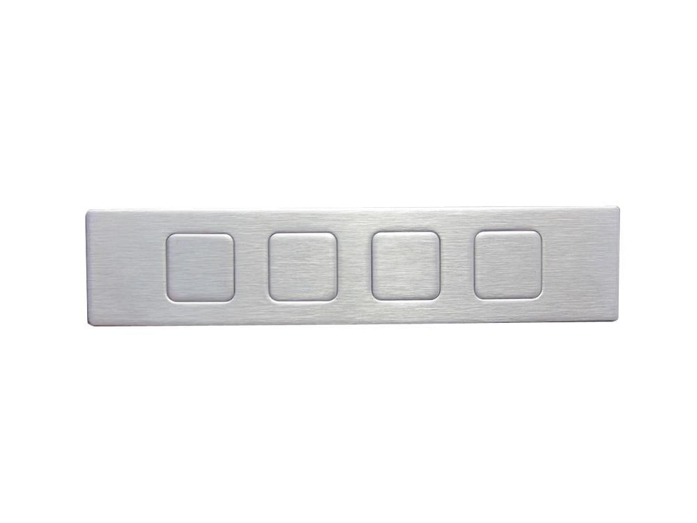 Metal Function Keypad With 4 Keys Keyboard Manufacturing Companies Shenzhen