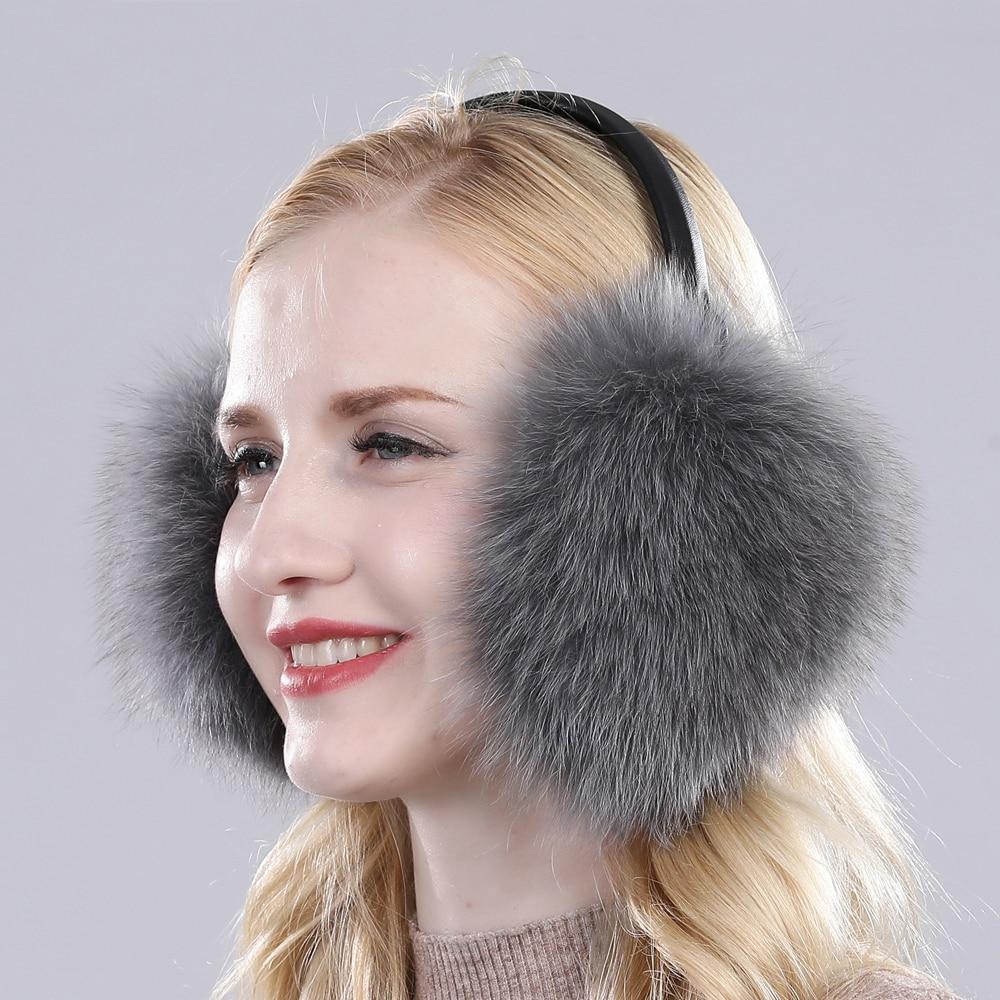 Warm Ear Muffs Earflaps Flannel Fur Earwarmers Fit Most for Winter Outdoor Activities