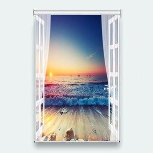 Modern Printing Roller Curtain