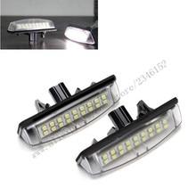 2 шт. ДЛЯ TOYOTA номерного знака Лампа для Camry LED Фонарь Освещения Номерного Знака Лампа для Camry/Aurion (ACV40/GSV40)/Avensis/Verso (ACM20/CLM20)