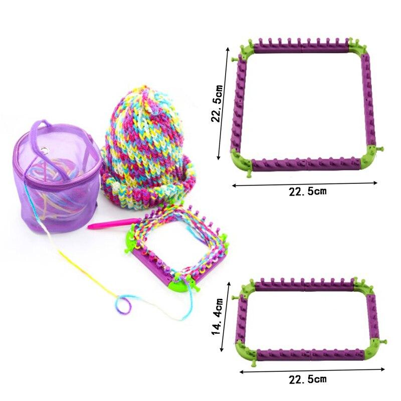 Stricken Hobby Webstuhl Strickmaschine Sewing Tools DIY Handwerk Kit ...