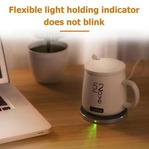Image 5 - Akıllı kablosuz ısıtma kahve kupalar ev ofis kararlı 55 santigrat süt kupa kahve fincanları kablosuz şarj cihazı ile
