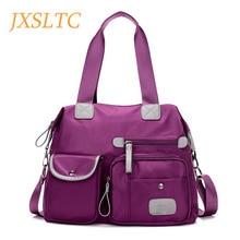 JXSLTC нейлоновые водонепроницаемые повседневные женские сумки-мессенджеры модные женские сумки через плечо высококачественные дизайнерские Брендовые женские сумки на плечо