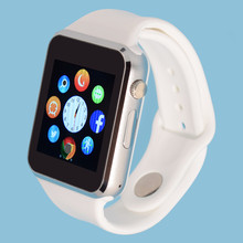 Hombres mujeres smart watch para android bluetooth podómetro deporte apoyo whatsapp smartwatches para samsung cámara gt08 dz09 a1 a9