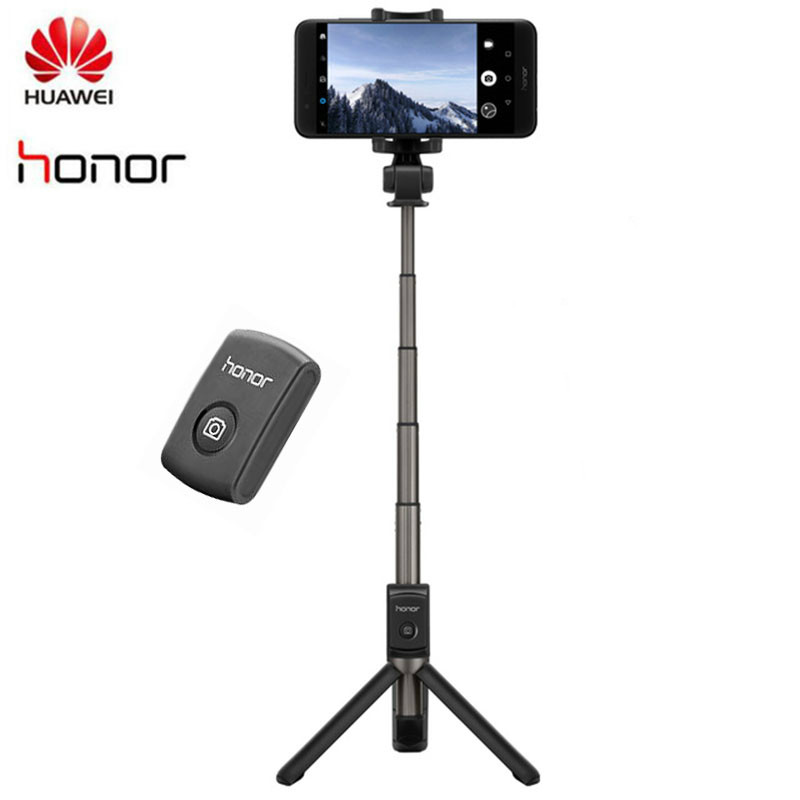 Original <font><b>Huawei</b></font> <font><b>Honor</b></font> <font><b>AF15</b></font> <font><b>Bluetooth</b></font> Selfie Stick Tripod Portable Wireless Control Monopod Handheld for iOS/<font><b>Huawei</b></font>/Xiaomi image