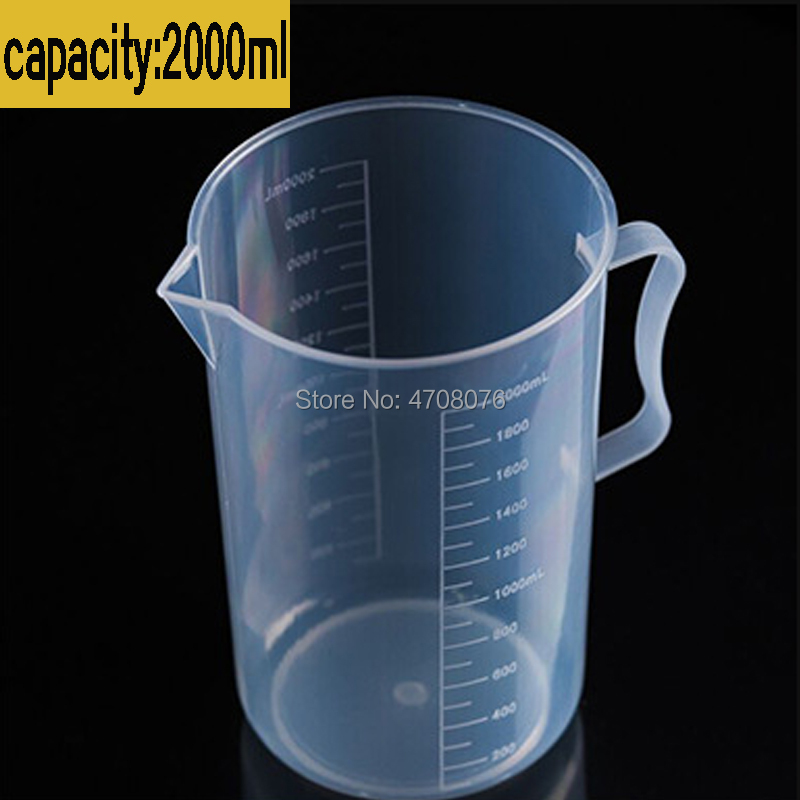 500ml PVC Measuring Plastic Transparent Graduated Beaker Plastic Beaker