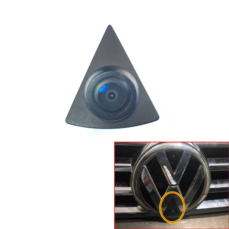 for sonyccd CCD Car Front View Logo Logo Camera for VW GOLF Bora Jetta Touareg Passat Lavida Polo Tiguan EOS GTI مثبتة