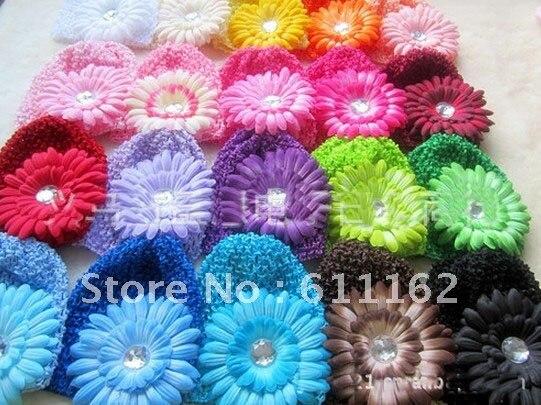 50 шт. детское вязанное крючком изделие шапки и вафельные шапочки и шапки много цветов на выбор gbth bmfhm