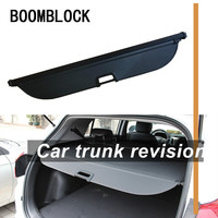 Auto Car Rear Trunk Cargo Shelf For Hyundai IX25/Creta 2018 2014 Car Rear Tail Racks Retractable Curtain Spacer Accessories