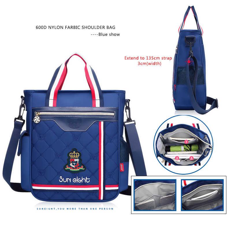 Солнечная восьмерка ортопедический школьный портфель для девочек водонепроницаемый рюкзак Детская школьная сумка для детей школьные ранцы для мальчиков