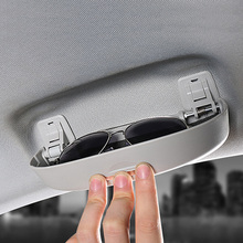 Автомобильный футляр для солнечных очков Авто accerories коробка для хранения очков Чехол подходит для Audi A3 A4 A5 A6 A8 A2 TT Q5 Q7 TT R8 ALLROAD