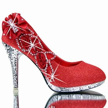 2019 Sapatos De Casamento Colorido Mulheres Bombas Sexy Ladies Super High Heels Moda Festa Mulheres Sapatos de Salto Fino 8 cm 10 cm YX721 1
