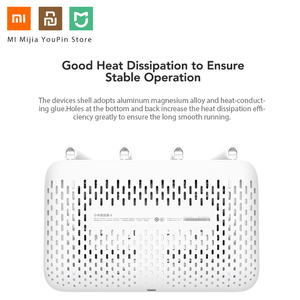 Image 2 - Original Xiaomi Mi WiFi Router 4 WiFi Repeater APP Control 2,4G 5GHz 128MB DDR3 1200 Dual Band Dual core 880MHz Wireless Router