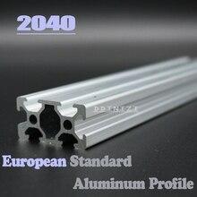 CNC 3D Printer Parts 4pcs/lot European Standard Anodized Linear Rail Aluminum Profile Extrusion 2040 for DIY 3D printer cnc 3d printer parts european standard anodized linear rail aluminum profile extrusion 2020 for diy 3d printer workbench