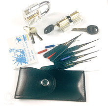 Card-Bag-Tools Utility-Tools Locksmith Broken-Key-Extractor Transparent-Locks Mini