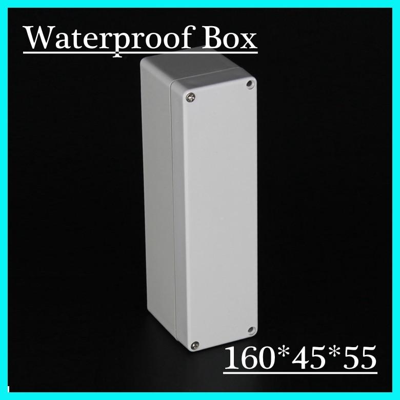 2015 160*45*55mm Plastic Waterproof Junction Box ABS Enclosure Terminal Blocks