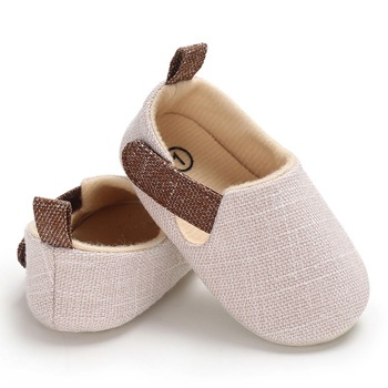 Autumn Hook Baby Boy Shoes Infant First Walkers Nonslip hard Sole Toddler Solid Baby Shoes Hot Sale for 0-18M 1