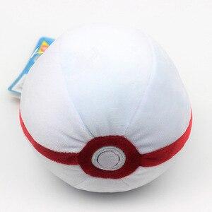 Image 5 - 6 스타일 Pokeball 고품질 귀여운 12CM 플러시 장난감 만화 애니메이션 인형 인형 어린이 생일 선물