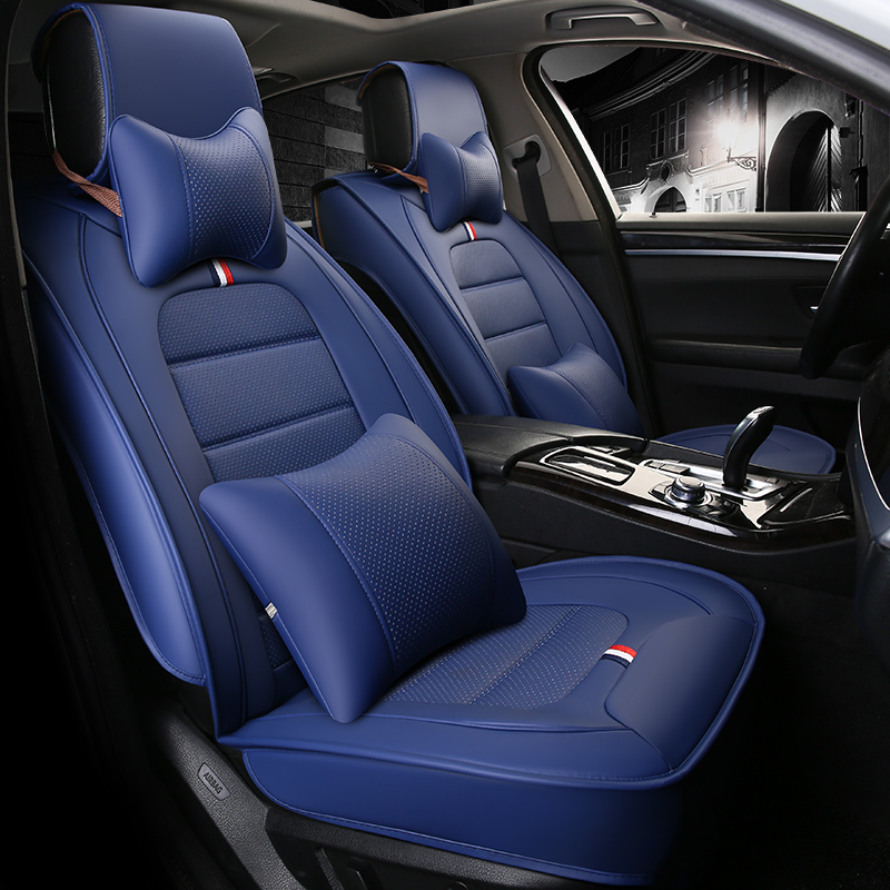 full surround design wear resistant car seat cover four seasons cushion for honda accord civic. Black Bedroom Furniture Sets. Home Design Ideas