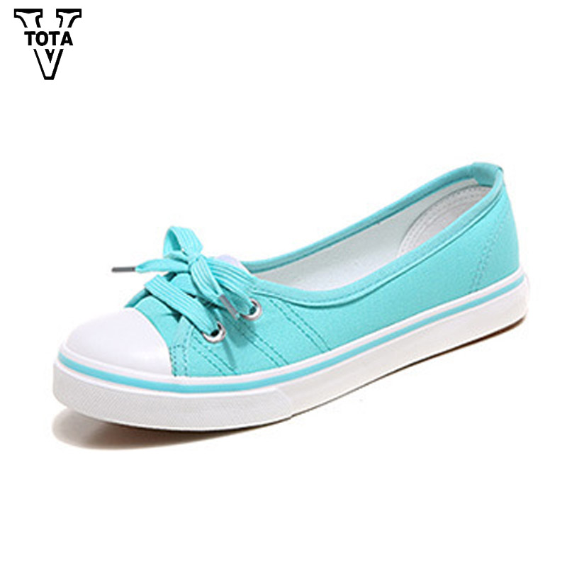 VTOTA Women Shoes Spring Shoes Woman Slip On Lace-Up Fabric Autumn Female Casual Shoes Zapatos Mujer Woman Loafers Solid XLXY vtota fashion spring autumn women flats 2017 shoes woman slip on casual shoes soft comfortable women shoes new ladies shoes x48