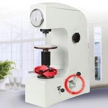 HR-150M Электрический Рабочий стол Rockwell Hardometer тестер твердости аппарат Двойная Ручка точность металла термообработка для штамповки стали