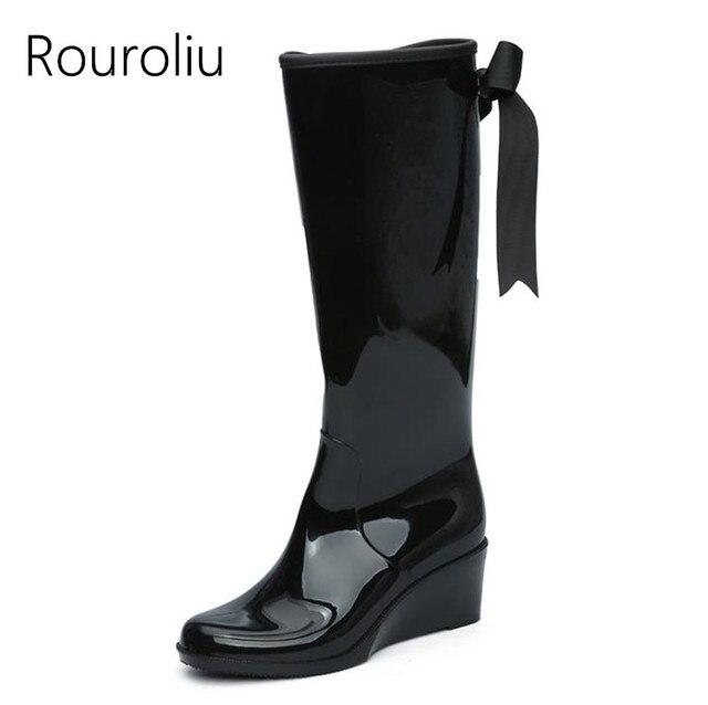 Women Fashion Zipper Boots Knee High