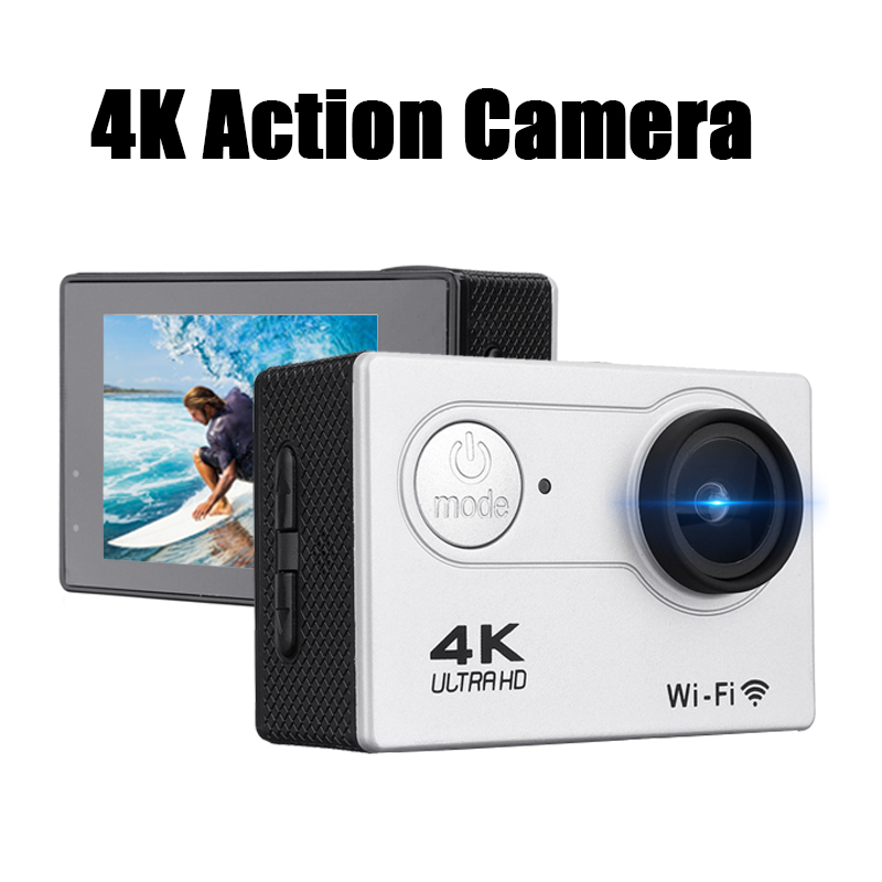 1080P Outdoor Sports 4k wifi Camcorders Camera HD Screen Lite with Remote Control DVR Waterproof Camera with Carry Case